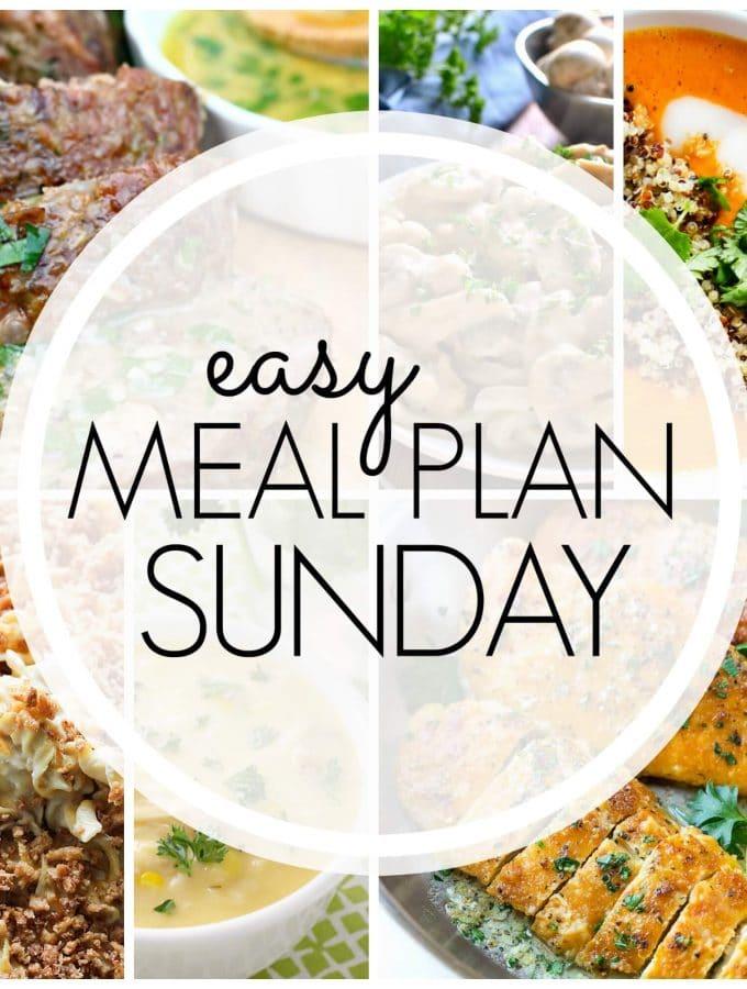 Easy Meal Plan Sunday – Week 83
