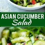 Asian Cucumber Salad Recipe | Sesame Cucumber Salad | Cucumber Salad | Healthy Salad | Healthy Cucumber Recipe