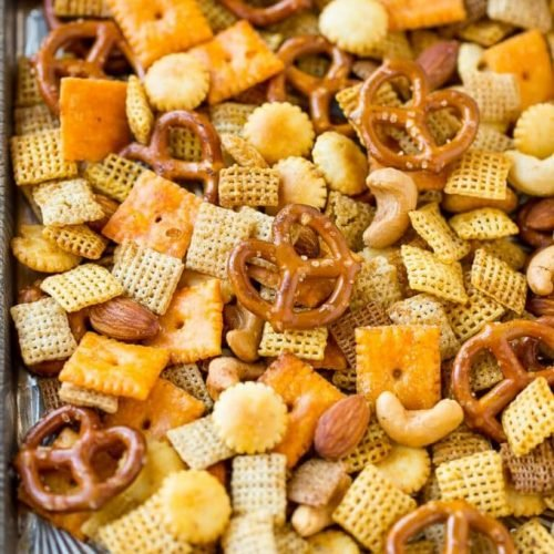 Homemade Chex Mix Dinner At The Zoo