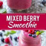 Mixed Berry Smoothie Recipe | Berry Smoothie | Healthy Smoothie Recipe | Easy Smoothie
