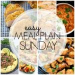 Easy Meal Plan Sunday – Week 80