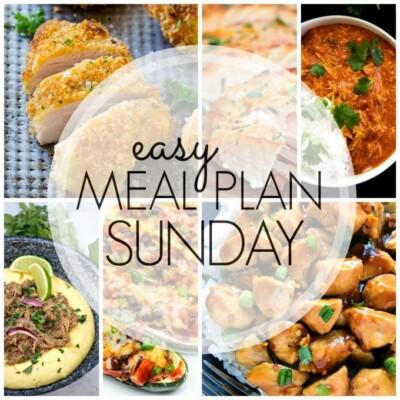 Easy Meal Plan Sunday – Week 80