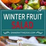 Winter Fruit Salad | Citrus Fruit Salad | Fruit Salad Recipe | Healthy Salad Recipe