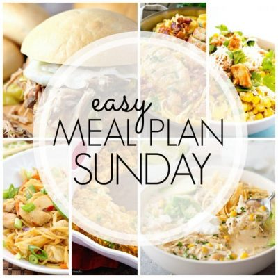 Easy Meal Plan Sunday – Week 87