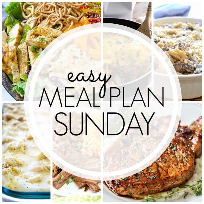 Easy Meal Plan Sunday - Week 84