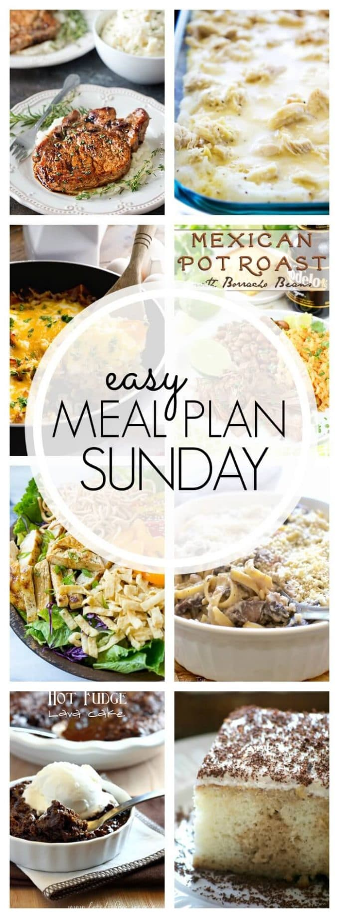 Easy Meal Plan Sunday - Week 84