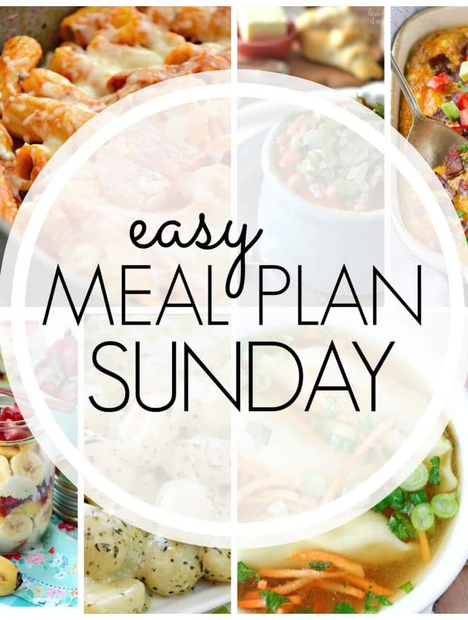 Easy Meal Plan Sunday – Week 86