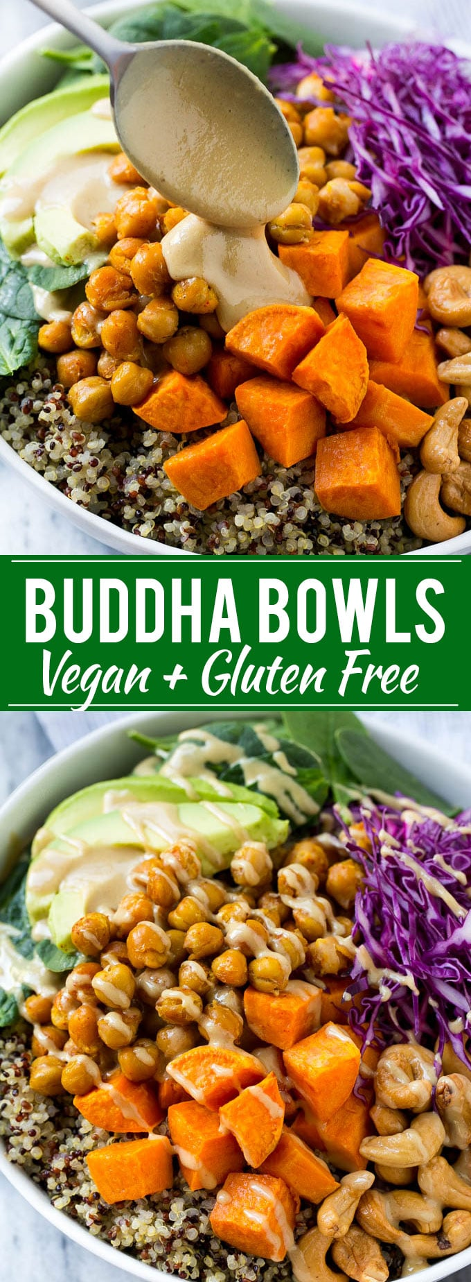 Buddha Bowl Recipe | Vegan Buddha Bowl | Quinoa Bowl | Sweet Potato Recipe | Quinoa Recipe #healthy #cleaneating #quinoa #dinner #dinneratthezoo #chickpeas