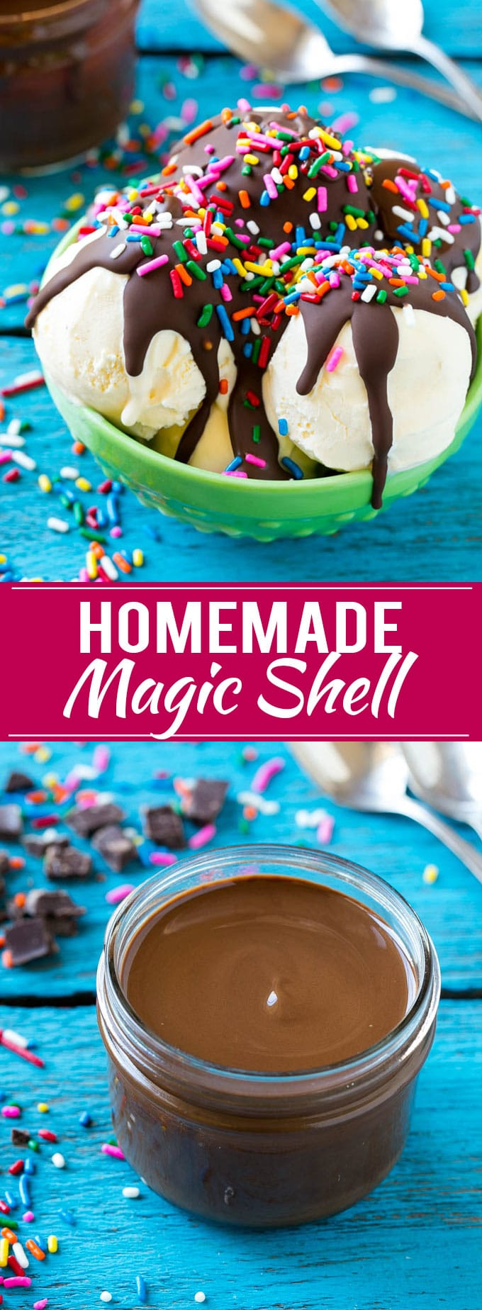 Homemade Magic Shell Recipe | Chocolate Ice Cream Topping | Chocolate Sauce | Hard Chocolate Coating #chocolate #icecream #dessert #dinneratthezoo