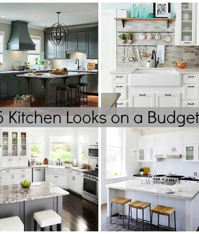 Five Kitchen Looks on a Budget