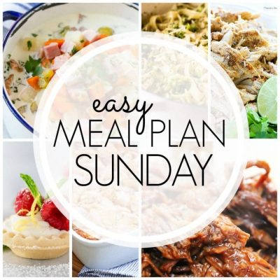 Easy Meal Plan Sunday – Week 89