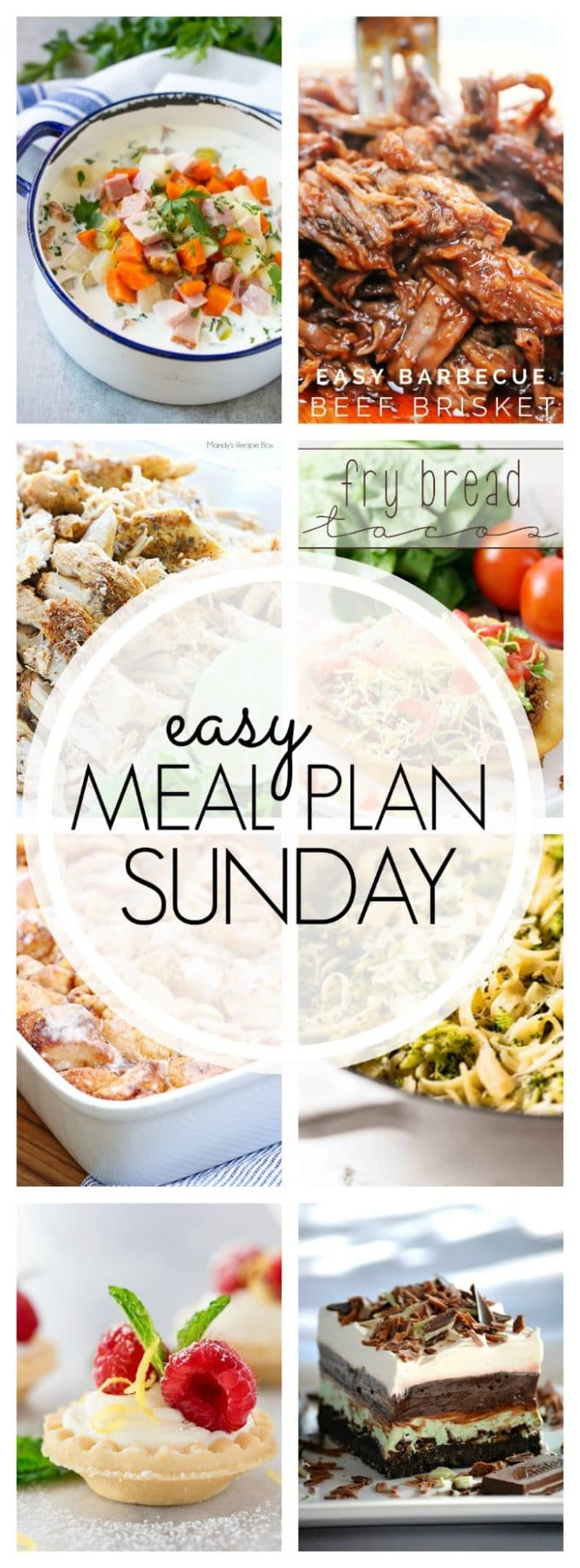 Easy Meal Plan Sunday - Week 89