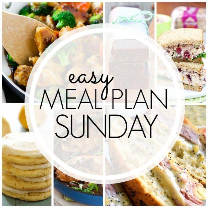Easy Meal Plan Sunday Week 91