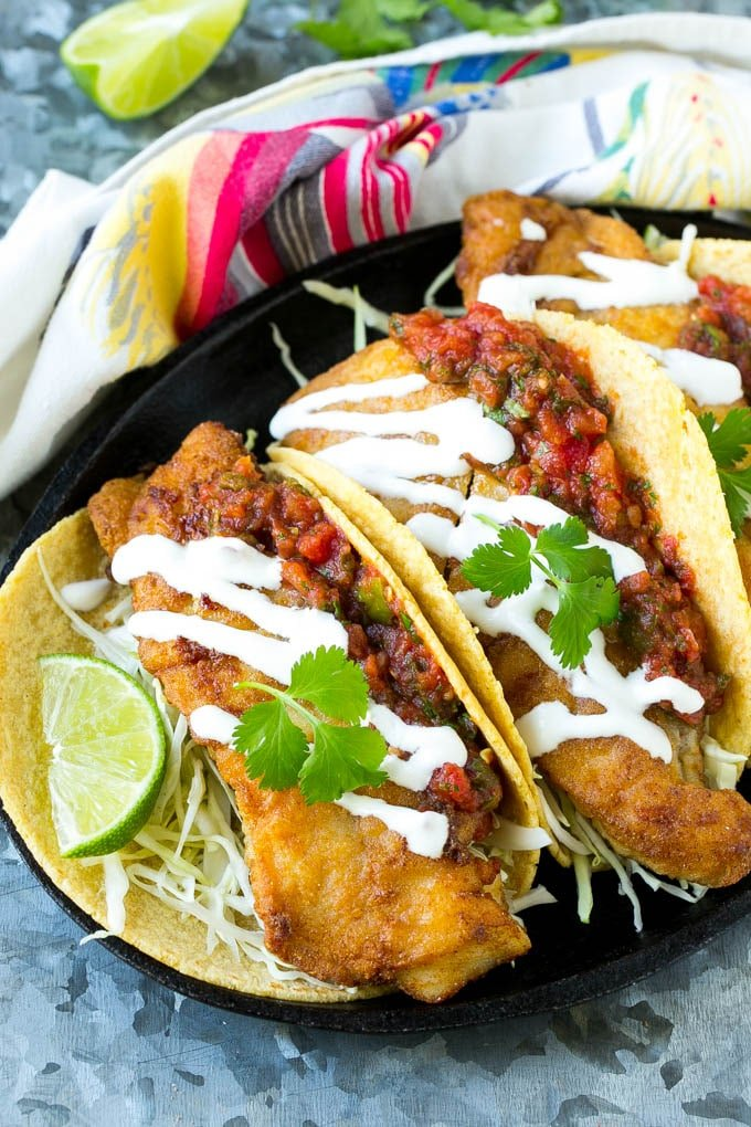Baja fish tacos dinner at the zoo for Baja fish taco recipe