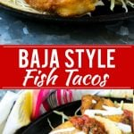 Baja Fish Tacos Recipe | Fried Fish Tacos | Crispy Fish Tacos | Easy Fish Tacos Recipe