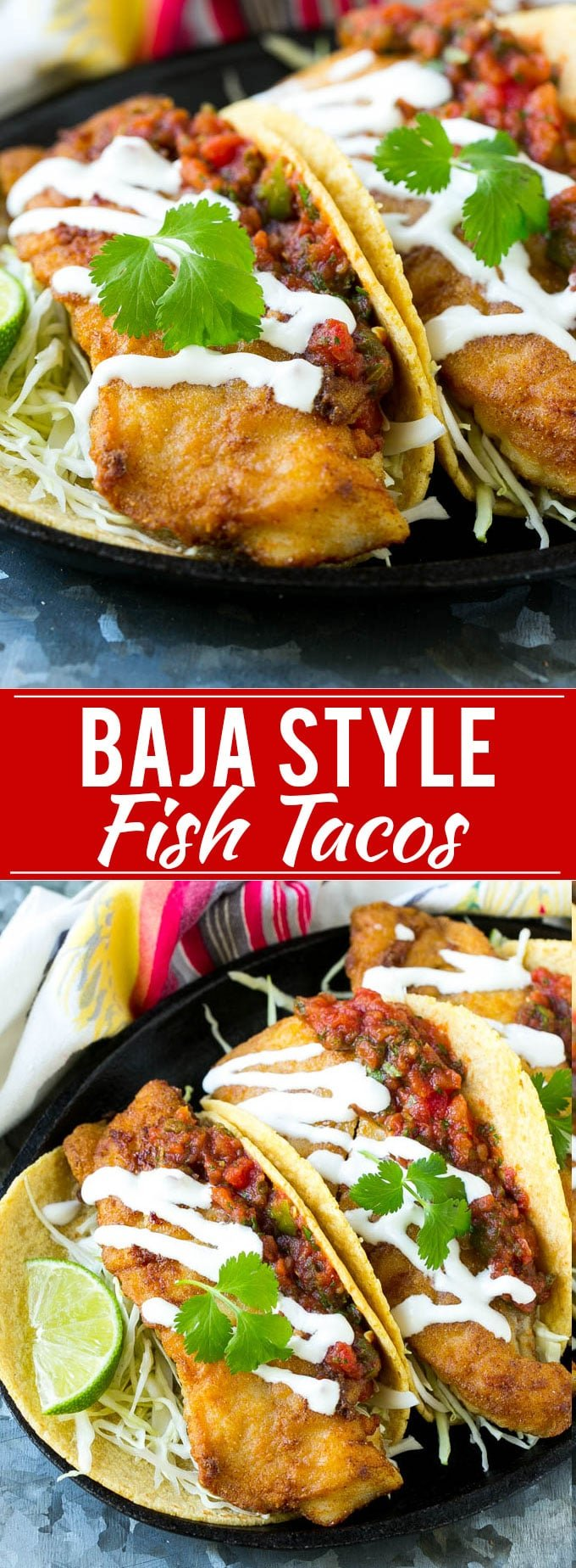 Baja Fish Tacos Recipe | Fried Fish Tacos | Crispy Fish Tacos | Easy Fish Tacos Recipe #fish #tacos #dinner #dinneratthezoo