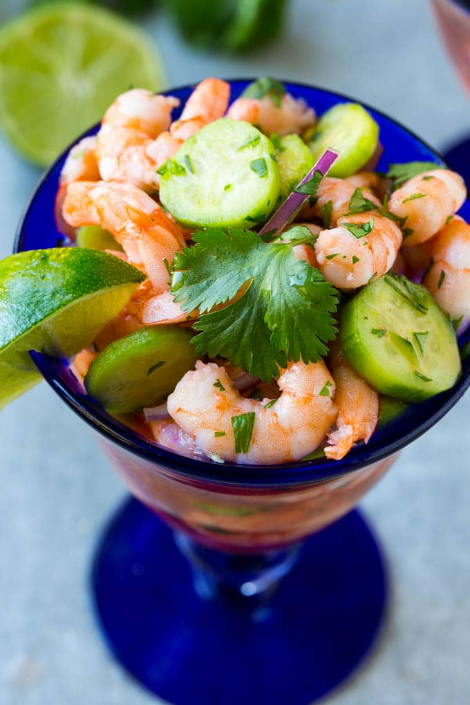 Shrimp Ceviche Dinner At The Zoo
