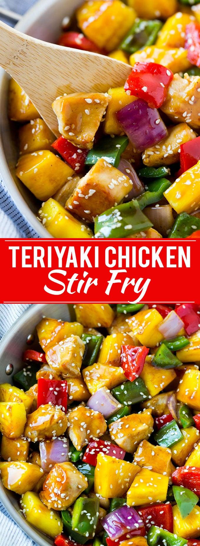 Teriyaki Chicken Stir Fry Recipe   Teriyaki Chicken   Chicken Stir Fry   Healthy Chicken Recipe