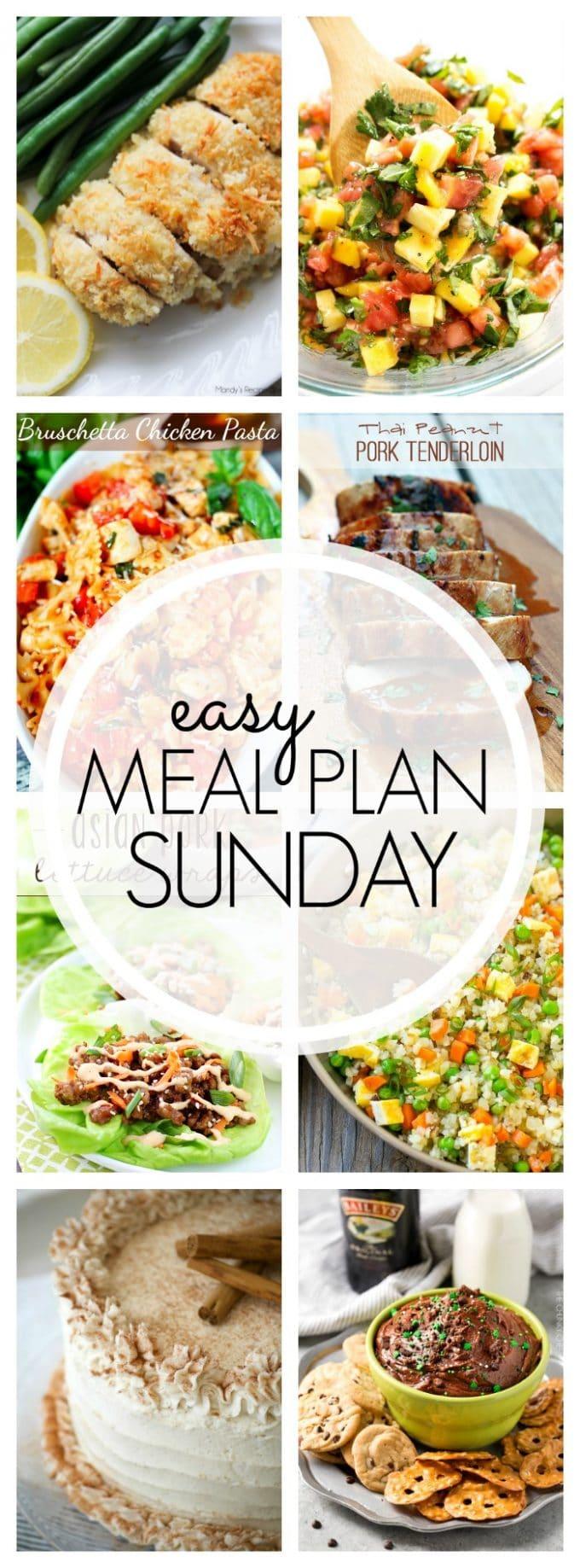 Easy Meal Plan Sunday Week 92
