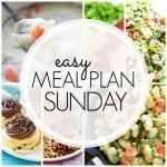 Easy Meal Plan Sunday Week 93