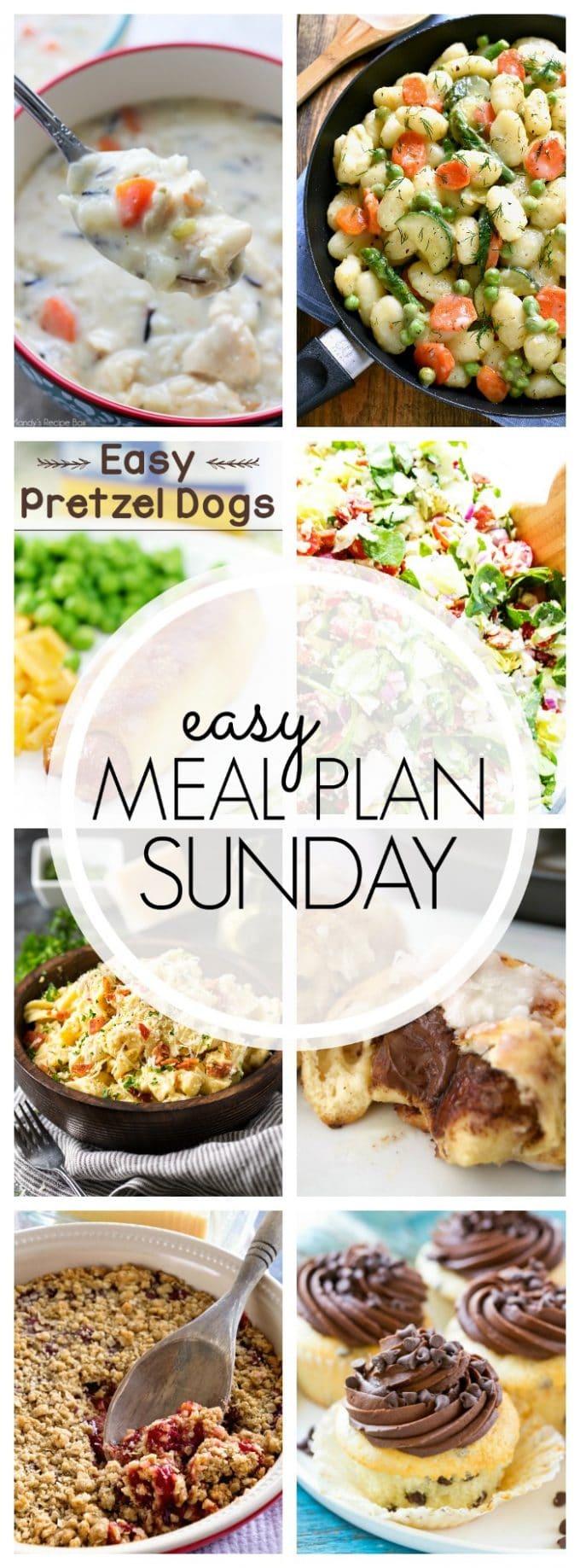 Easy Meal Plan Sunday Week 93