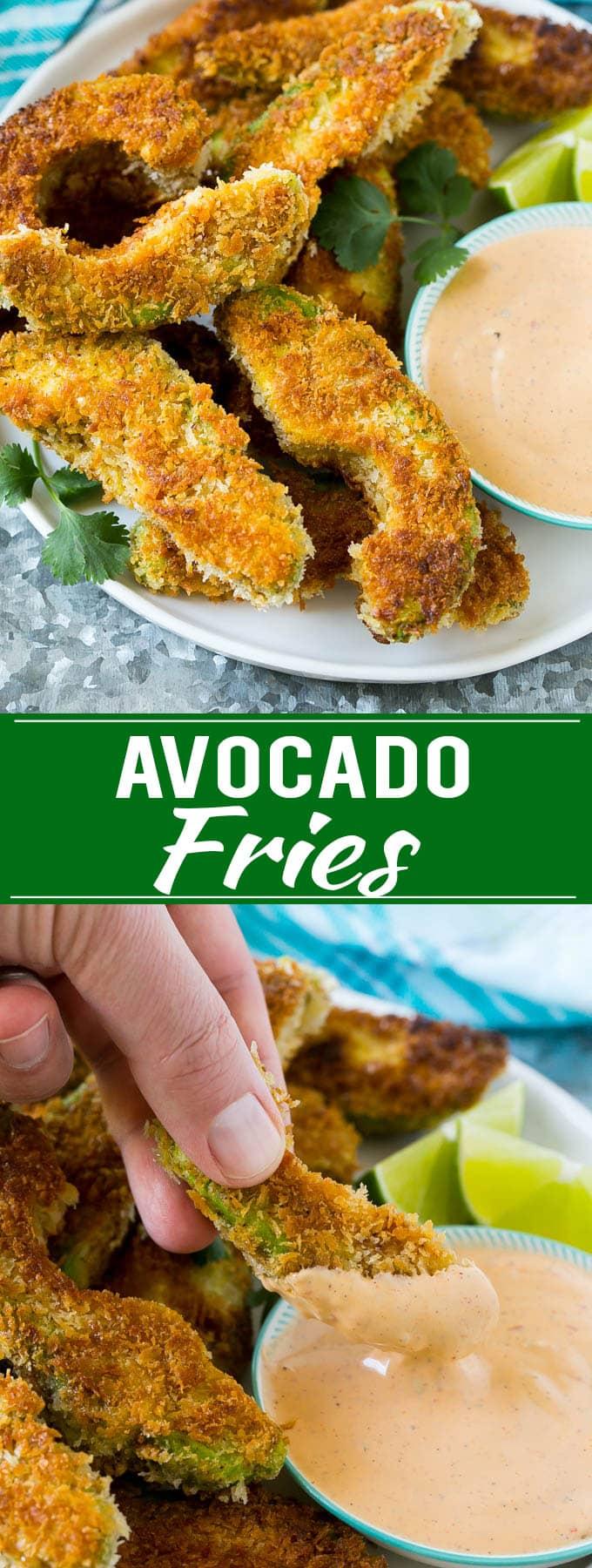 Avocado Fries Recipe   Fried Avocado   Avocado Fritters