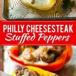 Philly Cheesesteak Stuffed Peppers Recipe | Easy Stuffed Peppers | Low Carb Stuffed Peppers |