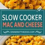 Slow Cooker Mac and Cheese | Crock Pot Macaroni and Cheese | Homemade Macaroni and Cheese | Mac and Cheese Recipe