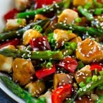 Teriyaki chicken stir fry is a healthy and easy dinner option.