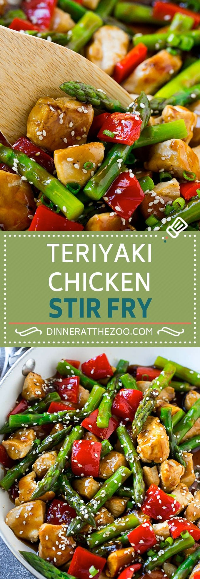 Teriyaki Chicken Stir Fry - Dinner At The Zoo-3487