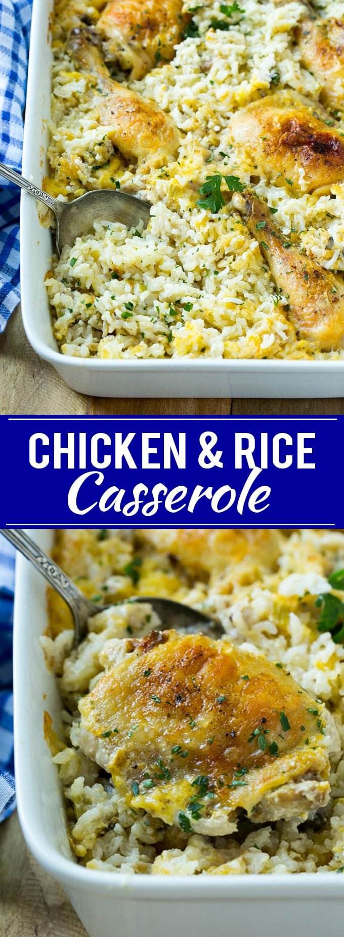 Chicken and Rice Casserole Recipe | Chicken and Rice Bake | Cream of Mushroom Chicken Casserole | Chicken Casserole Recipe #chicken #casserole #rice #dinner #onepot #dinneratthezoo
