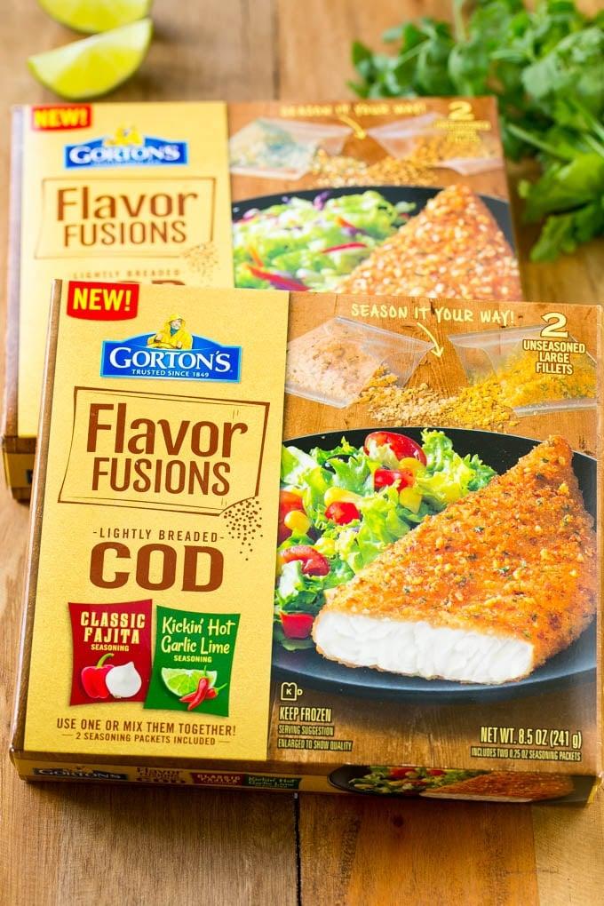 Gorton's Flavor Fusions