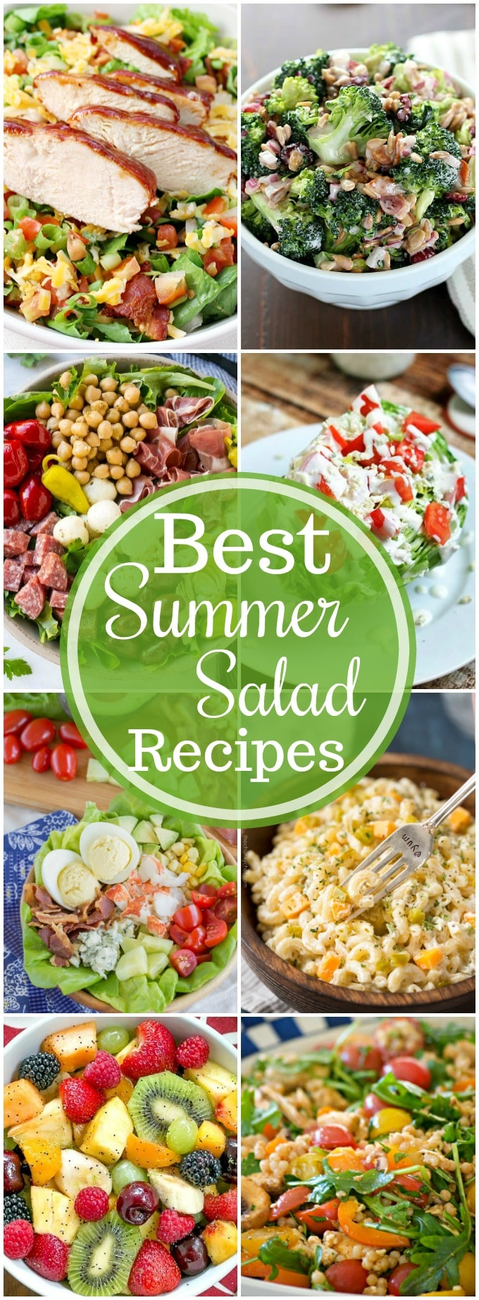 The BEST Summer Salad Recipes