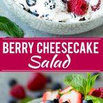 Berry Cheesecake Salad Recipe   Fruit Salad   Berry Fruit Salad   Cheesecake Salad