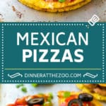 Mexican Pizza Recipe #mexicanfood #beef #dinneratthezoo