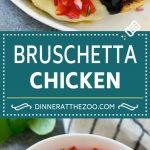 Bruschetta Chicken Recipe | Grilled Chicken | Tomato Chicken | Chicken Bruschetta #chicken #grilling #tomato #basil #dinner #lowcarb #dinneratthezoo