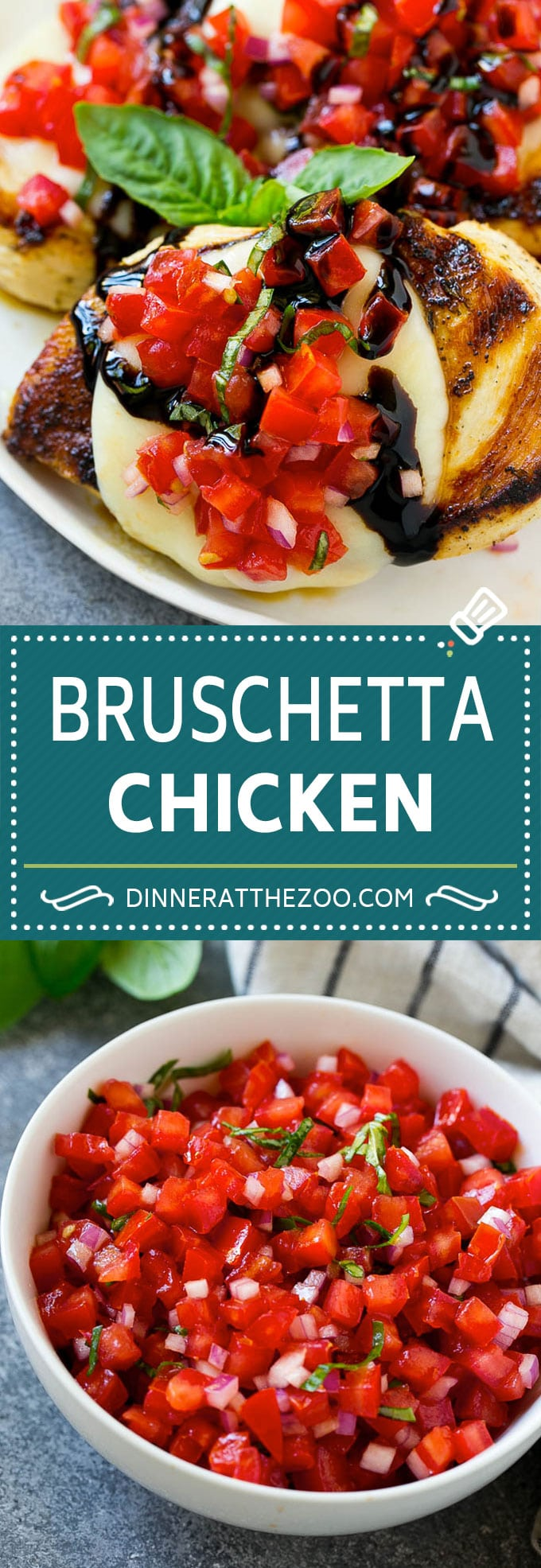 Bruschetta Chicken Recipe | Grilled Chicken | Tomato Chicken | Chicken Bruschetta #chicken #grilling #tomato #basil #dinner #lowcarb #dinneratthezoo