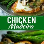 Chicken Madeira Recipe | Chicken with Mushrooms | Cheesecake Factory Copycat Recipe