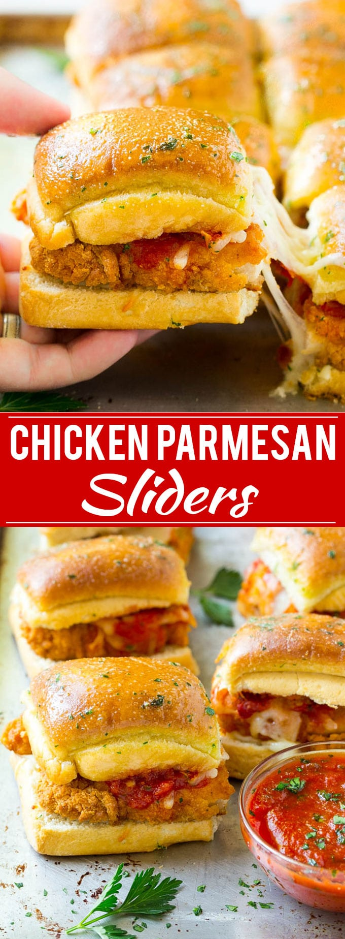 Chicken Parmesan Sliders | Chicken Parmesan Sandwich Recipe | Slider Sandwich Recipe #sandwich #chickenparm #chickenparmesan #sliders #dinner #appetizer #dinneratthezoo