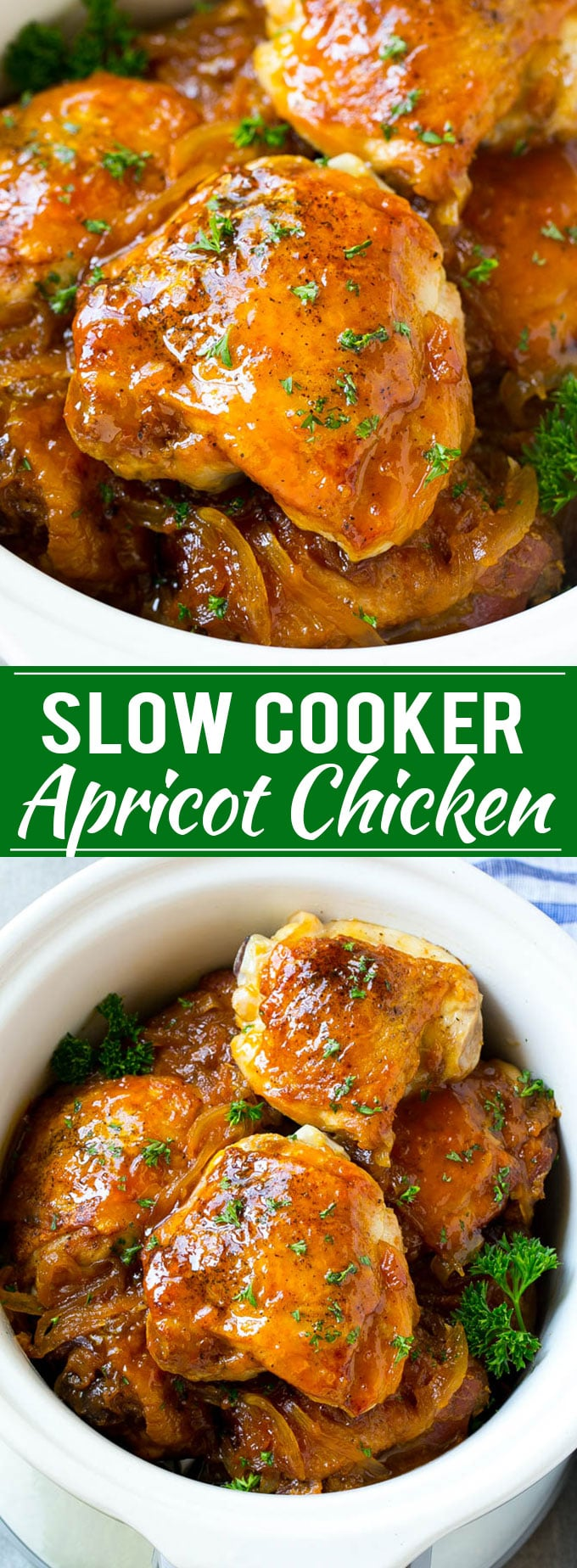 Slow Cooker Apricot Chicken Recipe | Apricot Chicken | Slow Cooker Chicken | Easy Chicken Recipe