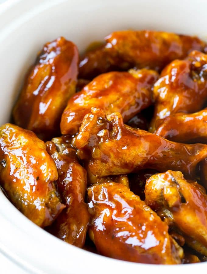 Slow Cooker Party Wings