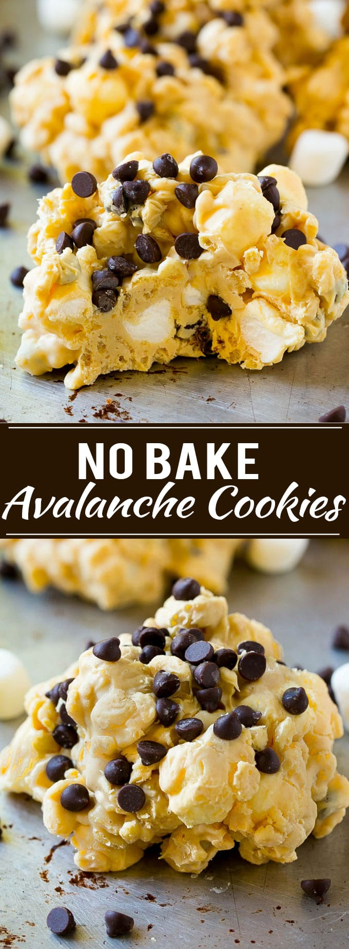 Avalanche Cookies Recipe | No Bake Cookie Recipe | Easy Cookie Recipe | Avalanche Bark
