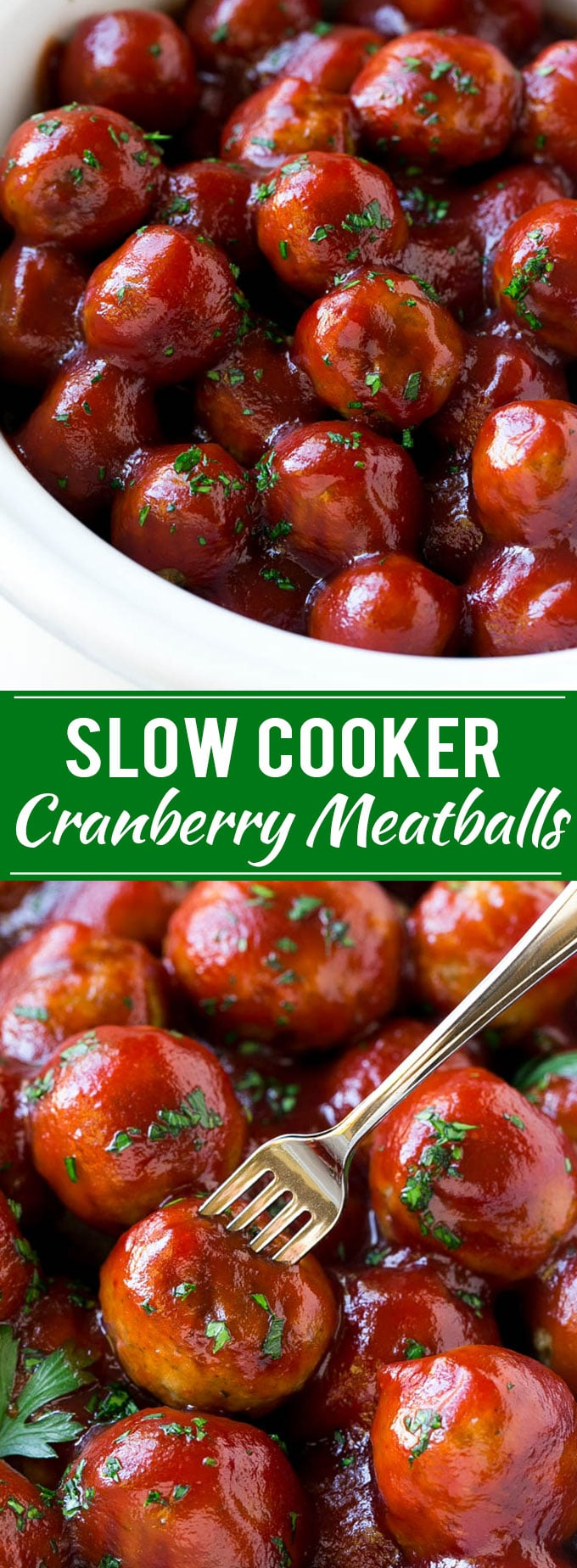 Cranberry Meatballs Recipe | Slow Cooker Meatballs | Slow Cooker Appetizer | Crockpot Meatballs