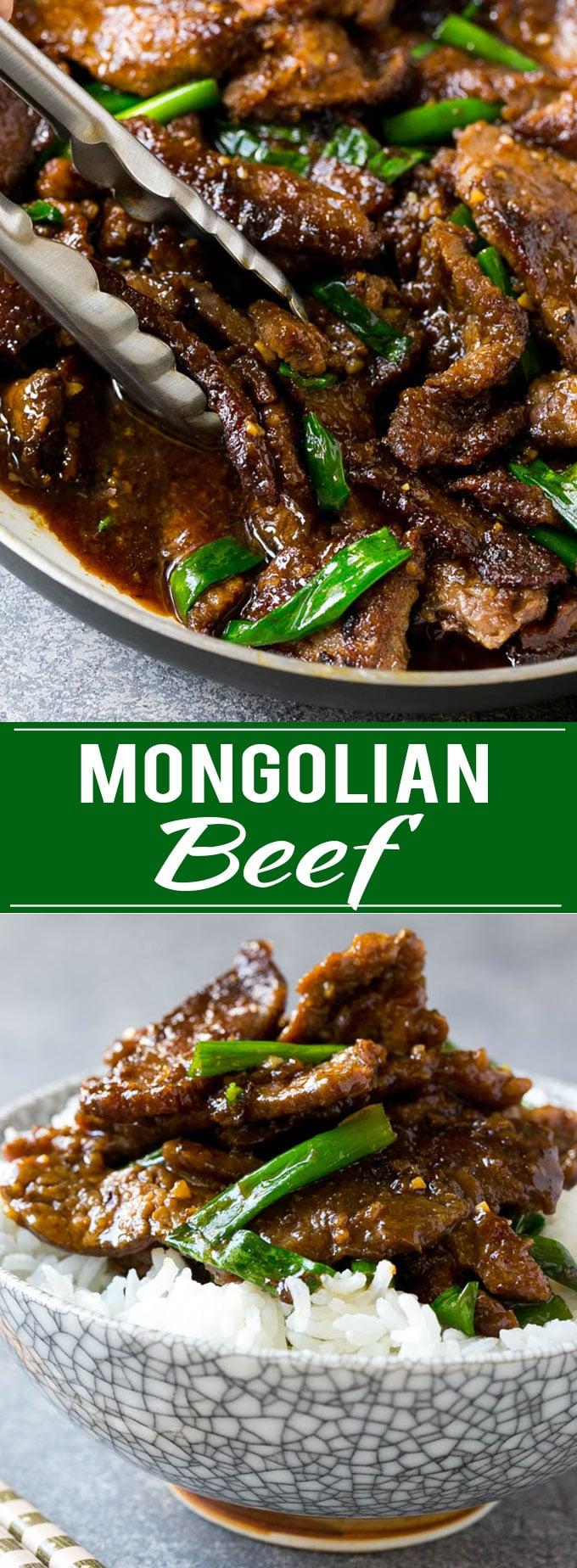 Mongolian Beef Recipe | Asian Beef Recipe | Beef Stir Fry | Copycat Recipe