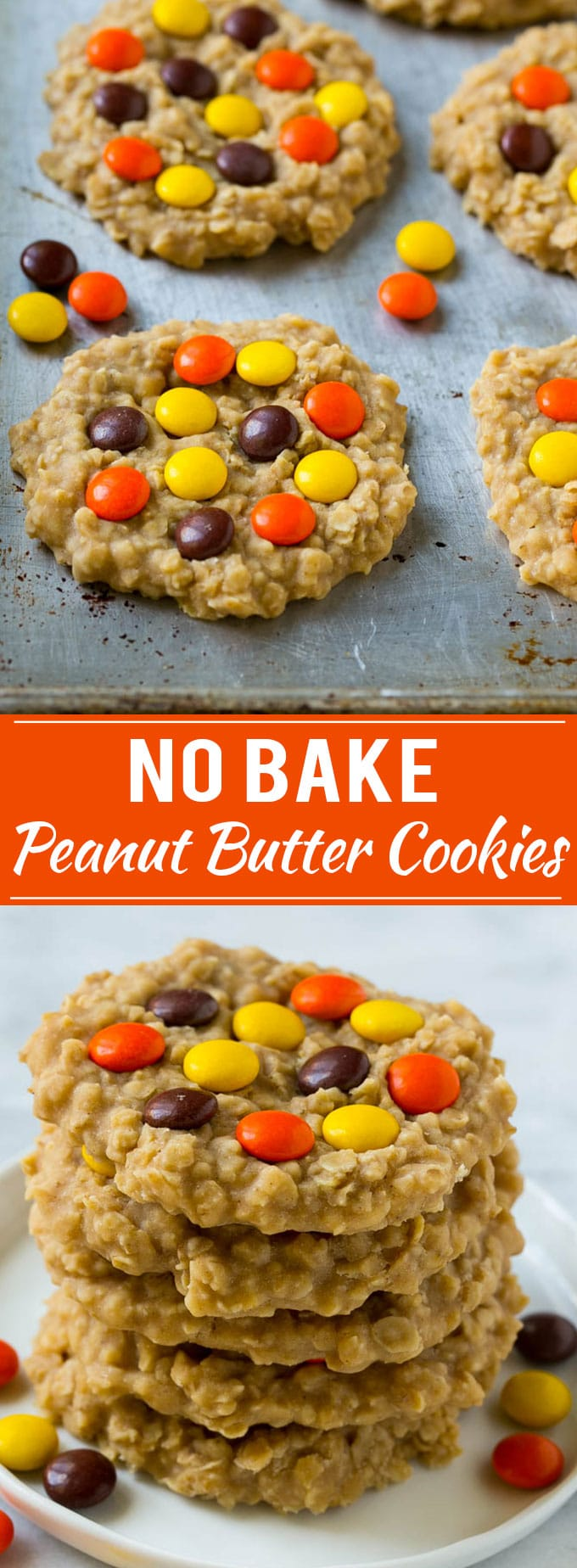 No Bake Peanut Butter Cookies Recipe | No Bake Cookies | Peanut Butter Cookies