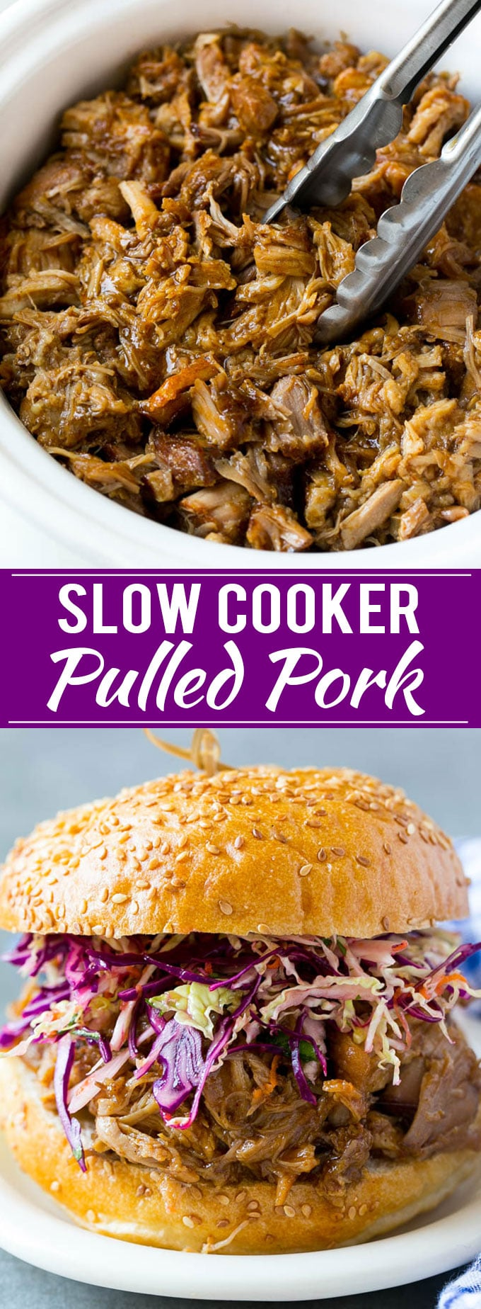 Slow Cooker Pulled Pork Sandwiches Recipe | Slow Cooker Pulled Pork | Crockpot Pulled Pork | Slow Cooker Sandwich
