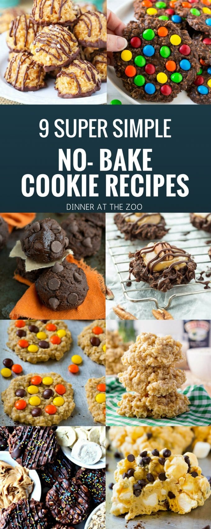 9 Super Simple No Bake Cookie Recipes