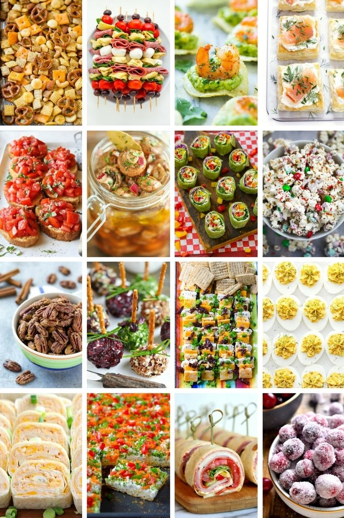 60 Christmas Appetizer Recipes