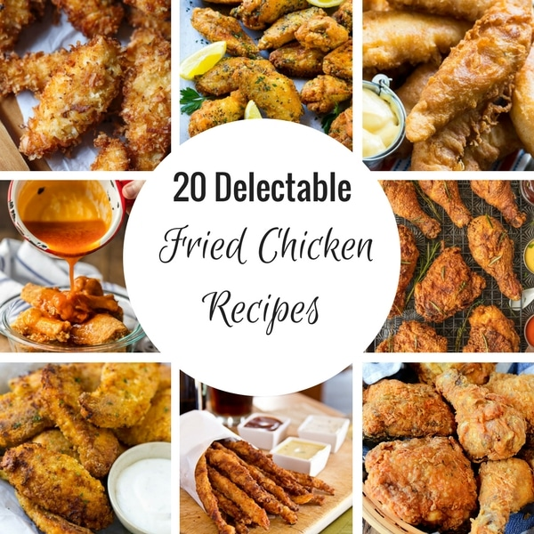 20 Fried Chicken Recipes