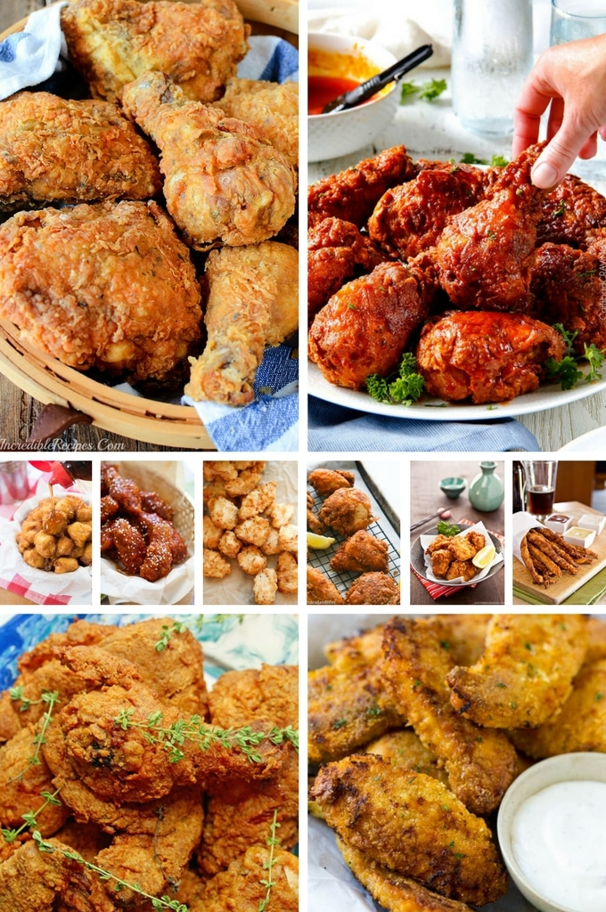 The BEST Fried Chicken Recipes including chicken nuggets, Japanese fried chicken and KFC style chicken.